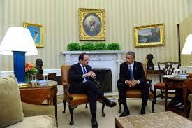 bureau ovale maison blanche obama et hollande s engagent à faire plus de choses ensemble