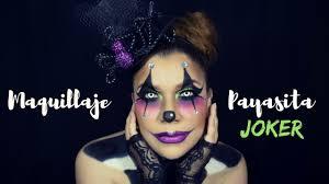 payasa joker payasa del terror halloween makeup seelene iride
