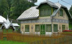 painted houses the painted houses of ciocanesti a housewife s artistic legacy