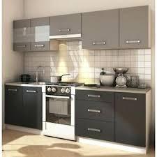 meuble de cuisine gris anthracite meuble cuisine gris cuisine complate grace cuisine complate l 2m40