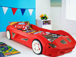 storm childrens racing car bed with mattress amazon co uk