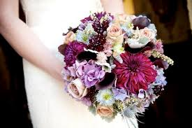 Blue Wedding Flowers Purple And Blue Wedding Flowers Lacy U0026 Kevin Loudoun Wedding