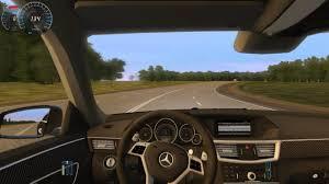 mercedes city car city car driving mercedes e63 amg