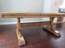 Homemade Dining Room Table Ana White Double Pedestal Farmhouse Table Diy Projects