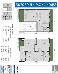 Vastu Floor Plans North Facing South Facing Duplex House Floor Plans House Plans