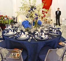 Navy Table L 29 Best Setting A Beautiful Table Images On Pinterest Bridal