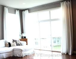Curtains For Large Windows Inspiration Curtain For Window Length Of Window Curtains Standard Curtain