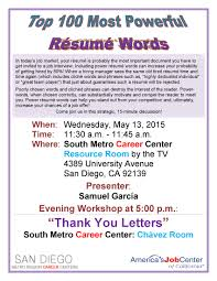 Job Resume Keywords by Powerful Words For Resume Resume For Your Job Application