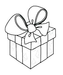 coloring pictures of christmas presents christmas present coloring pages s s christmas present color pages