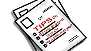 tips on how to adjust your cv for a different job explore4jobs com