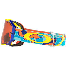 oakley new mx airbrake high oakley airbrake mx thermo camo orange blue goggle sixstar racing