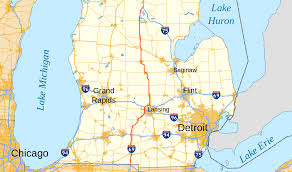 Map Of Metro Detroit by U S Route 27 In Michigan Wikipedia