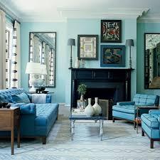 Blue Color Living Room Home Design Ideas - Blue color living room