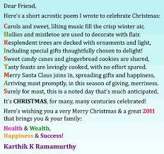 merry christmas acrostic poem decorating ideas