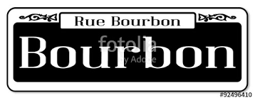 bourbon sign rue bourbon sign stock image and royalty free vector files