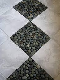 bathroom river rock tile bathroom floorriver rock tile sheets