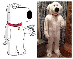 Family Guy Halloween Costumes 40 Creations Images Puff Paint Family Guy
