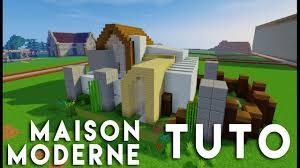 Maison Modern Minecraft by Minecraft Tuto Construction Maison Moderne En 14x14 Youtube