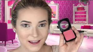 melting barbie halloween makeup tutorial youtube