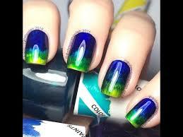color paints easiest no tools gradient opi color paints youtube
