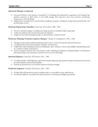 Best Resume Format For Logistics by Best Resume Template Httpwwwresumecareerinfobest Cover Letter