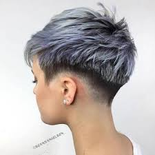 pictures of womens short dark hair with grey streaks best 25 short grey haircuts ideas on pinterest where does grey