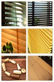 35mm interior basswood timber venetian window blinds view