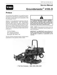 03116sl pdf groundsmaster 4100 d model 30411 rev e dec 2007