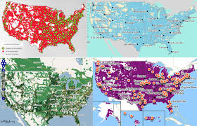 Verizon Canada Coverage Map by At U0026t Vs Verizon Vs T Mobile Vs Sprint Which Iphone 5 Carrier