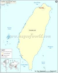 Where Is Monaco Located On A Map Where Is Taipei Location Of Taipei In Taiwan Map