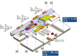 Cdg Airport Map Cdg Airport Terminal 3 Map Map Of Cdg Airport Terminal 3 France