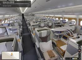 Emirates Airbus A380 Interior Business Class Is Google Street View The Next Best Thing To A Trip Report One