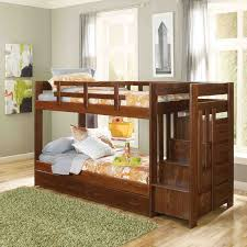 home design bunks twin over bunk bed with storage staircase