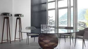 glass dining room table bases exquisite x base dining table in brown at for glass top