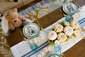 thanksgiving life hacks thanksgiving decoration ideas kids table setting hacks