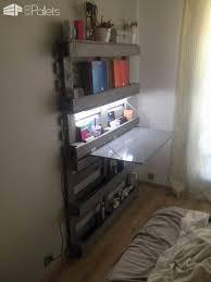 bureau gain de place bureau gain de place office folding pallet desk 1001 pallets