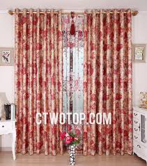 red bedroom curtains fresh red floral curtains and red floral happy two panels bedroom