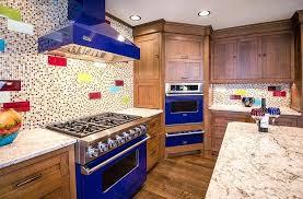 des moines cabinet makers west craftsman kitchen art glass blue appliances silent rivers