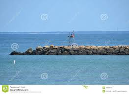 at cape cod at the jetty stock photo image 43084646