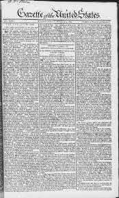 thanksgiving proclamation 1789 gazette of the united states wikipedia