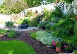 Backyard Flower Bed Ideas Backyard Flower Bed Ideas Cool Garden Design With Garden Flower