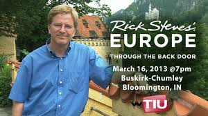 rick steves europe through the back door march 16 2013