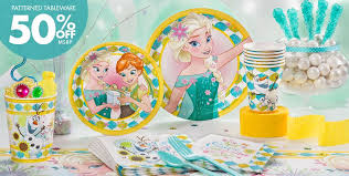 frozen party supplies disney frozen birthday party city image inspiration of cake and