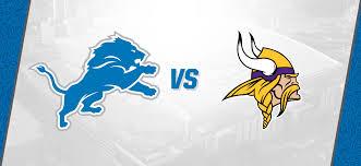 detroit lions vs minnesota vikings ford field