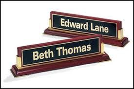 desk name plates royal trophies
