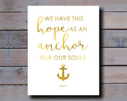 Love Anchors The Soul 8x10 - anchor of our soul etsy