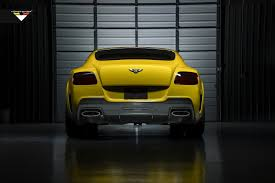 bentley continental gt speed more yellow vorsteiner bentley continental gt br10rs