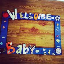 themed frames sports theme baby shower frame picture booth frames