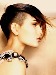 hair shaved on sides long on top woman mohawk hairstyle women