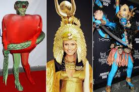 90 halloween costumes exclusive heidi klum s epic halloween costume includes five